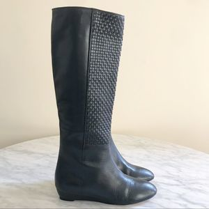 New Loeffler Randall Matilde Leather Woven Boots